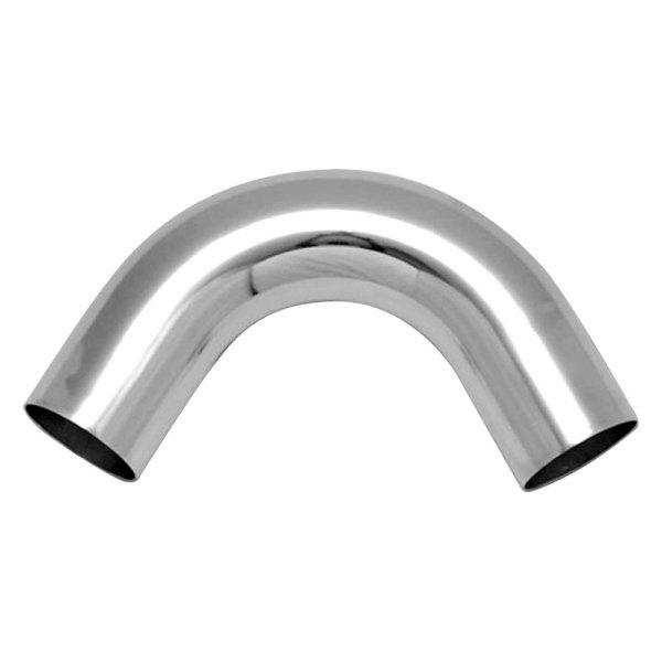 "Vibrant 2.25/"" OD Universal Aluminum Tubing Polished 45 degree bend"