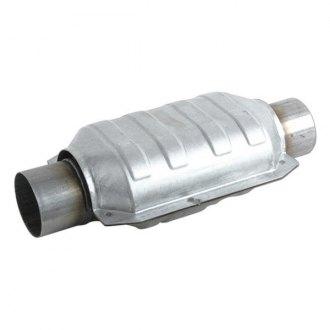 "Vibrant Performance® - Stainles Steel Ceramic Core Oval Catalytic Converter (2.5"" Inlet / Outlet Diameter, 13"" Length)"