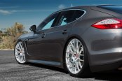 VICTOR® - INNSBRUCK Silver with Mirror Cut Face on Porsche Panamera