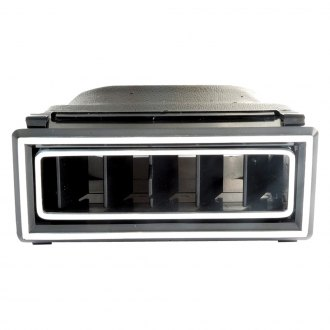 "Vintage Air® - 3.875""x 1.562"" In-Dash Black Plastic Standard Series Louver"
