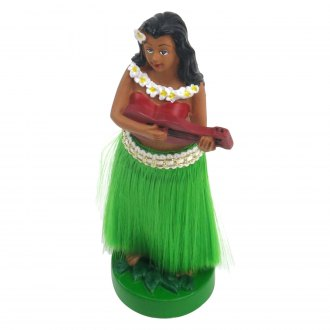 Vintage Parts® - Dancing Hawaiian Grass Skirt Hula Girl Doll