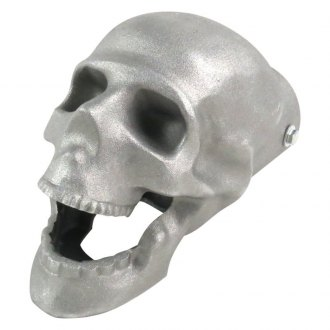 Vintage Parts® - Aluminum Skull Form Exhaust Tip
