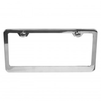 Vintage Parts® - Chrome License Plate Frame