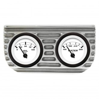 Vintage Parts® - Finned 2-Gauge Bezel Mounts