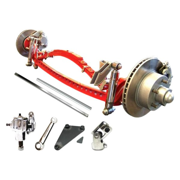 Vintage Parts® - Super Deluxe Drilled Solid Axle Kit