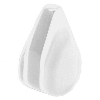Vintage Parts® - White Small Tear Shape Dash Knob