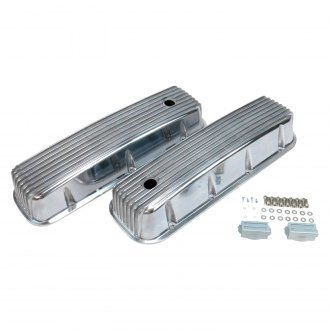Vintage Parts® - Short Finned Valve Cover with Breather Hole