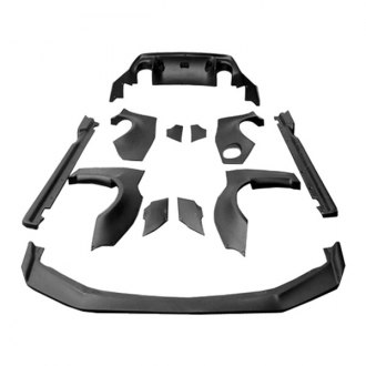 VIS Racing® - Quad Six Style Body Kit (Unpainted)
