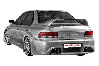 VIS Racing® - Monster W Style Fiberglass Rear Bumper