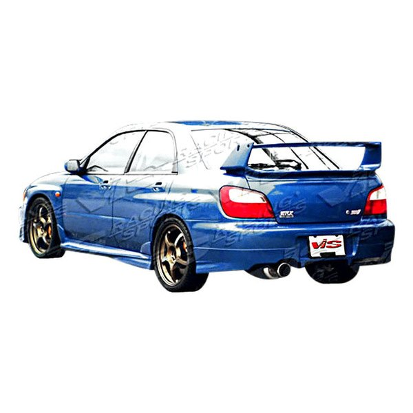 Image may not reflect your exact vehicle! VIS Racing® - Z Sport Style Fiberglass Rear Bumper Lip (Unpainted)