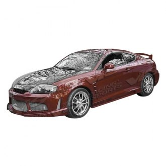 VIS Racing® - Drifter X Style Fiberglass Side Skirts (Unpainted)
