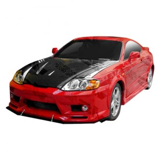 VIS Racing® - GT Sport Style Fiberglass Side Skirts (Unpainted)