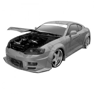 VIS Racing® - GT Widebody Style Fiberglass Side Skirts (Unpainted)