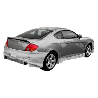 VIS Racing® - Tranz Style Fiberglass Side Skirts (Unpainted)