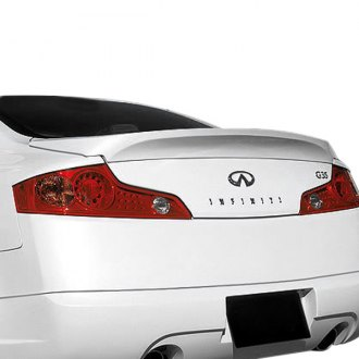 VIS Racing® - Wings Style Fiberglass Rear Lip Spoiler (Unpainted)