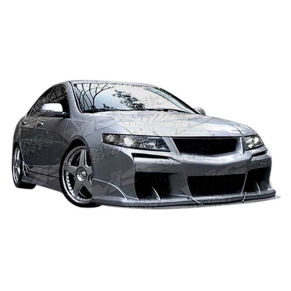 vis racing acura tsx 4 doors 2004 2005 laser style fiberglass body kit. Black Bedroom Furniture Sets. Home Design Ideas