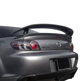 2005 mazda rx 8 custom style rear spoilers. Black Bedroom Furniture Sets. Home Design Ideas