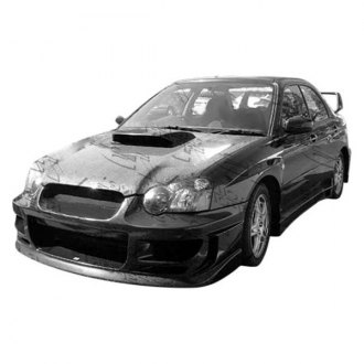 VIS Racing® - STI Style Carbon Fiber Side Scoops