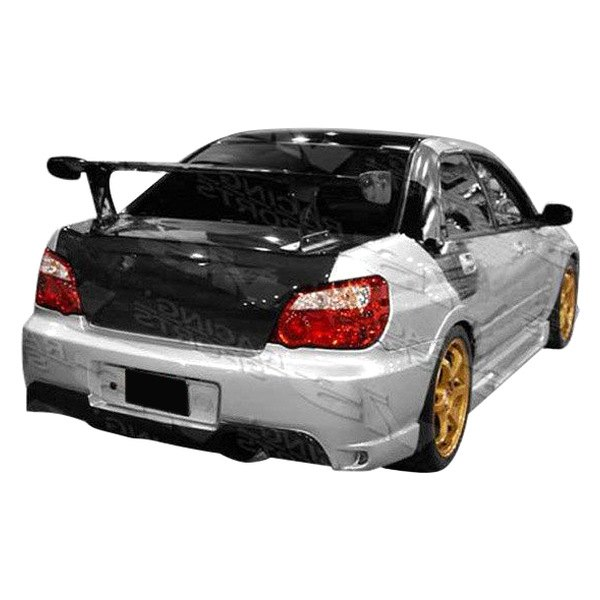 Image may not reflect your exact vehicle! VIS Racing® - Wings Style Fiberglass Side Skirts (Unpainted)