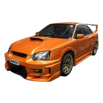 VIS Racing® - Z Speed WB Style Fiberglass Side Skirts (Unpainted)