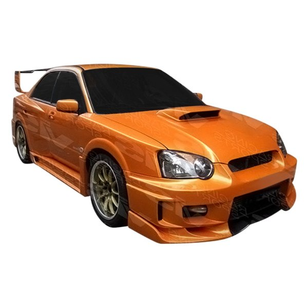 Image may not reflect your exact vehicle! VIS Racing® - Z Speed WB Style Fiberglass Body Kit (Unpainted)