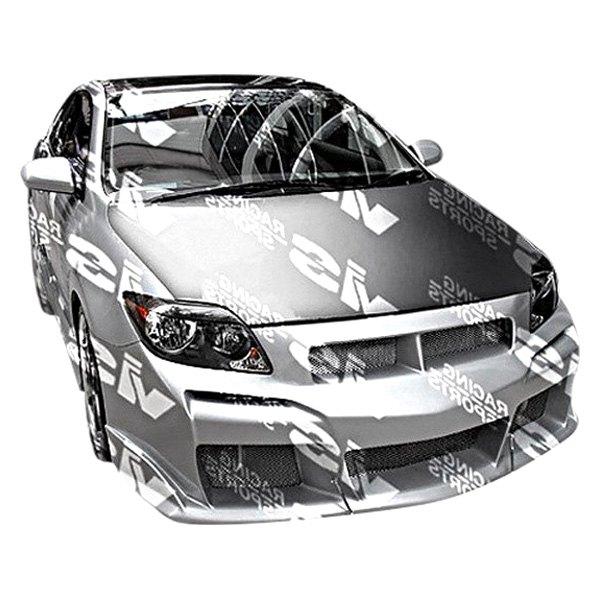 Vis Racing Scion Tc 2 Doors 2009 Laser Style Fiberglass Body Kit