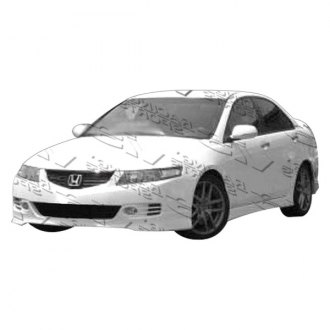 VIS Racing® - Euro R Style Fiberglass Side Skirts (Unpainted)