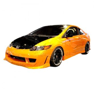 VIS Racing® - Techno R 2 Style Fiberglass Side Skirts (Unpainted)