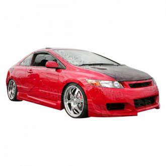 VIS Racing® - Touring Style Fiberglass Body Kit (Unpainted)