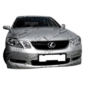 VIS Racing® - Techno R Style Front Bumper Lip (Unpainted)