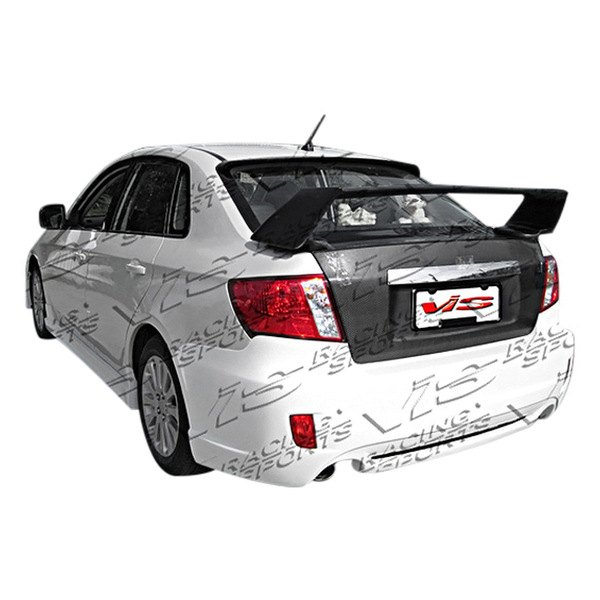 Image may not reflect your exact vehicle! VIS Racing® - Rally Style Fiberglass Rear Bumper (Unpainted)