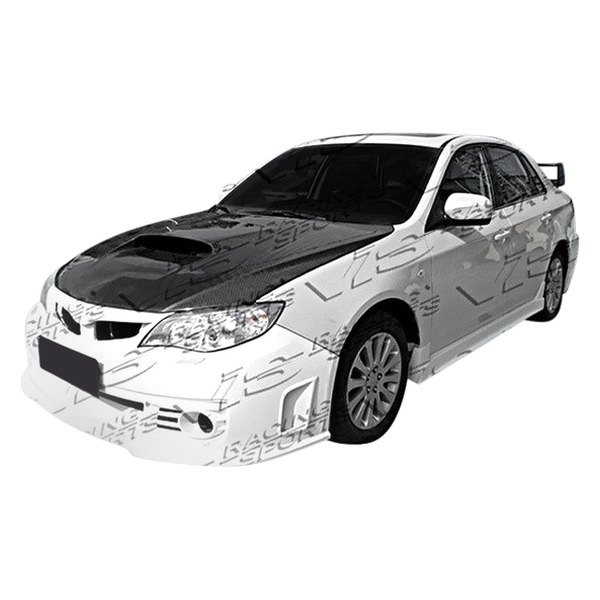 Image may not reflect your exact vehicle! VIS Racing® - Rally Style Fiberglass Side Skirts (Unpainted)