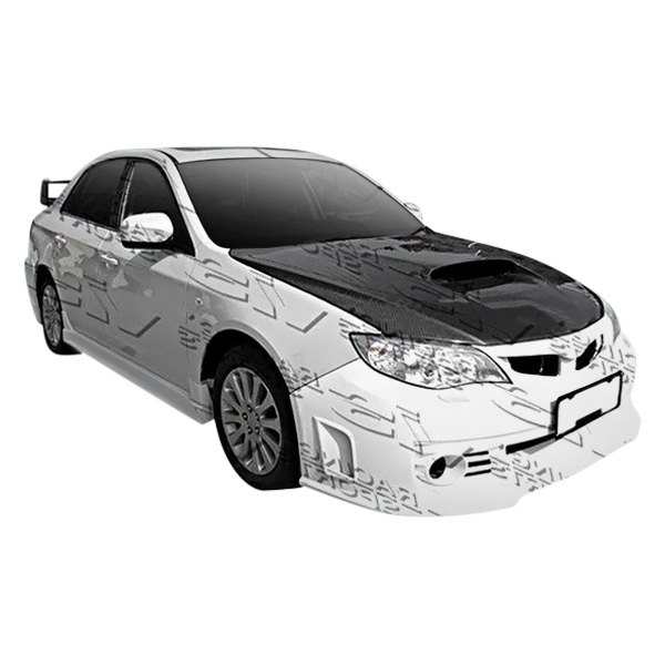 Image may not reflect your exact vehicle! VIS Racing® - Rally Style Fiberglass Body Kit