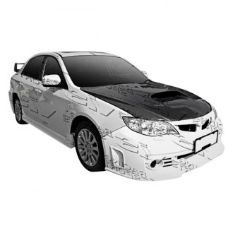 VIS Racing® - Rally Style Fiberglass Body Kit (Unpainted)