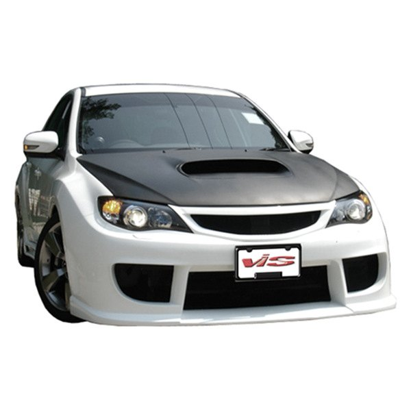 Image may not reflect your exact vehicle! VIS Racing® - Rally Style Fiberglass Front Bumper (Unpainted)