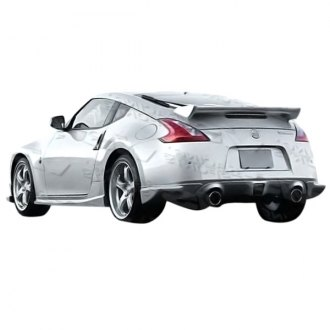 VIS Racing® - Techno R Style Fiberglass Rear Bumper Lip (Unpainted)