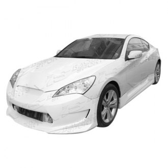 VIS Racing® - AMS GT Style Fiberglass Side Skirts (Unpainted)