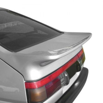 VIS Racing® - Techno R Style Fiberglass Rear Lip Spoiler (Unpainted)