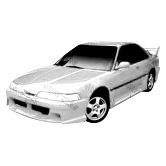 VIS Racing® - Xtreme 2 Style Fiberglass Side Skirts (Unpainted)