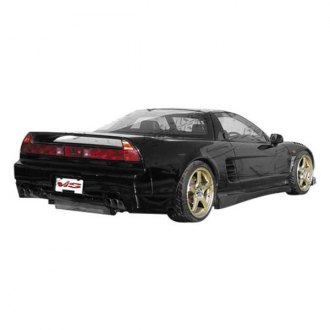 VIS Racing® - Blaze Style Fiberglass Side Skirts (Unpainted)