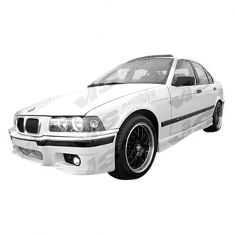 VIS Racing® - E46 M3 Style Fiberglass Side Skirts (Unpainted)