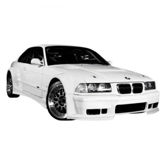 VIS Racing® - GT WideBody Style Fiberglass Bumpers (Unpainted)