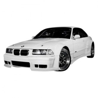 VIS Racing® - GT WideBody Style Fiberglass Fenders (Unpainted)
