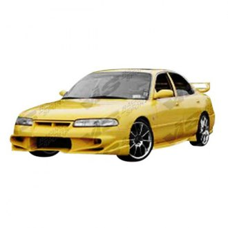 VIS Racing® - Invader Style Fiberglass Side Skirts (Unpainted)