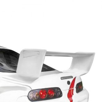 VIS Racing® - Battle Z Style Fiberglass Rear Spoiler (Unpainted)