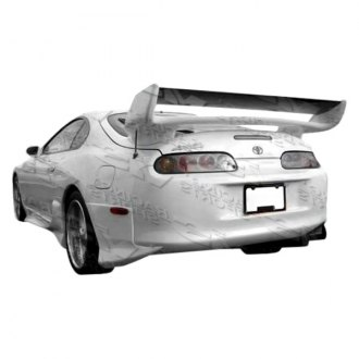 VIS Racing® - Invader Style Fiberglass Rear Lip (Unpainted)
