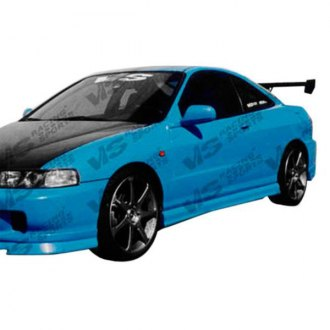 VIS Racing® - Ace Style Fiberglass Side Skirts (Unpainted)