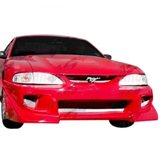 VIS Racing® - Battle Z Style Fiberglass Bumpers (Unpainted)