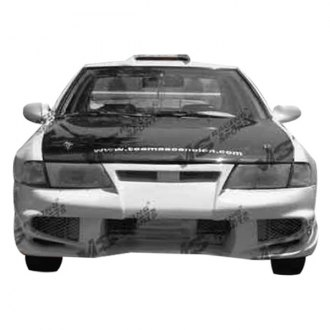 VIS Racing® - Invader 6 Style Fiberglass Front Bumper (Unpainted)