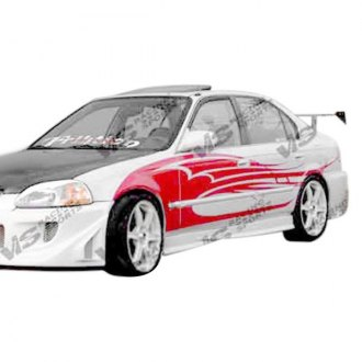 VIS Racing® - Evolution Style Fiberglass Body Kit (Unpainted)